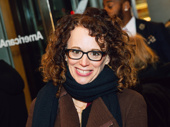 Tony-winning director Rebecca Taichman flashes a smile fo the camera.