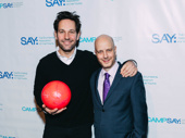 Hats off to these two for a fun night that benefits a great cause! Rudd poses with SAY founder Taro Alexander.