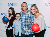 Gilbert Gottfried enjoys a night out with his children Lily and Max as well as his wife Dara Kravitz.