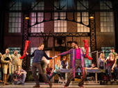 The touring company of Kinky Boots