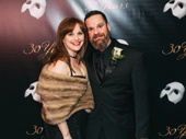 Les Miserables vet Jacquelyn Piro Donovan poses with husband and Broadway electrician Peter Donovan.