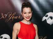 Current Meg Giry actress Kara Klein attends the red carpet.