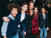 Class is back in session with Sierra Boggess and the original School of Rock kid band, including Brandon Niederauer, Ethan Kkhusidman, Evie Dolan and Raghav Mehrotra.
