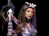 Tamyra Gray as Papa Ge in Once On This Island.