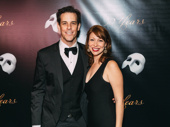 The Phantom of the Opera's Janet Saia and Jeremy Solle step out.