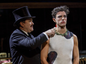 Douglas Hodge as Diaghilev and James Cusati-Moyer as Nijinsky in Fire and Air.