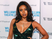 Saint Joan-bound star Condola Rashad strikes a pose.