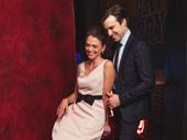 These two! Thoroughly Modern Millie pals Sutton Foster and Gavin Creel reunite.
