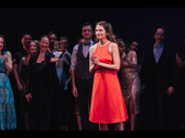 She's back! Sutton Foster returned to Broadway as Millie for one night only.