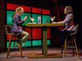 Gillian Jacobs as Kate and Eisa Davis as Representative Sydney Millsap in Kings.