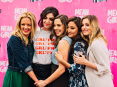 No mean girls here! Kate Rockwell, Barrett Wilbert Weed, Erika Henningsen, Ashley Park and Taylor Louderman feel the cast love.