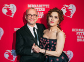 Broadway legends! Joel Grey and Bernadette Peters celebrate her opening night.
