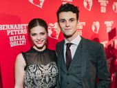 Hello, Dolly!'s fresh faces Molly Griggs and Charlie Stemp take a photo.
