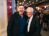 Hello, Dolly!'s choreographer Warren Carlyle and director Jerry Zaks are all smiles for opening night.