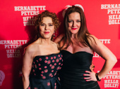 Hello, Dolly!'s Bernadette Peters buddies up with castmate Jennifer Simard.