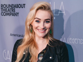 Broadway's Betsy Wolfe flashes a smile.