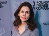 Admissions star Jessica Hecht is on the scene.