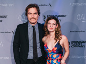 Theater couple Michael Shannon and Kate Arrington support Jessica Lange on her big night.