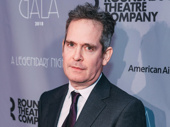 Travesties-bound star Tom Hollander attends the Roundabout Gala.
