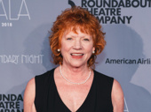 Stage and screen star Becky Ann Baker snaps a pic.