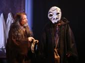 Thomas Jay Ryan as Larking and Greg Keller as Physic in The Amateurs.
