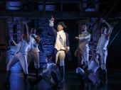 Bryan Terrell Clark as George Washington in Hamilton.