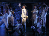 Bryan Terrell Clark as George Washington in Hamilton..