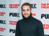 Tony winner Ben Platt is on hand to support his Dear Evan Hansen director, Michael Greif.