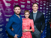 Angels in America stars James McArdle, Denise Gough and Lee Pace get together.