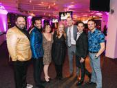 Jerry Springer - The Opera's Luke Grooms, Brandon Contreras, Jennifer Allen, Beth Kirkpatrick, Chris Bailey, Sean Patrick Doyle and Brad Greer enjoy the party.