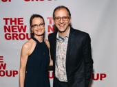 Jerry Springer - The Opera director John Rando and his wife Eileen snap a photo.