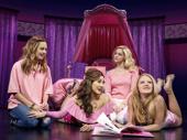 Erika Henningsen as Cady, Ashley Park as Gretchen, Taylor Louderman as Regina and Kate Rockwell as Karen in Mean Girls. Mean Girls.