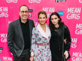 Jerry Seinfeld arrives with his wife, author Jessica Seinfeld and daughter Sascha Seinfeld.