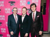 Mean Girls lighting designer Kenneth Posner, set designer Scott Pask and sound designer Brian Ronan get together.