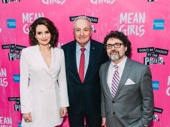 Tina Fey joins producer Lorne Michaels and her husband, Mean Girls composer Jeff Richmond.
