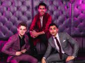 Mathlete Pride: Ben Cook, Cheech Manohar and Nikhil Saboo.