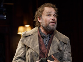 Norbert Leo Butz as Alfred P. Doolittle in My Fair Lady.