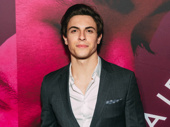 Anastasia's former Dmitry, Derek Klena, arrives.
