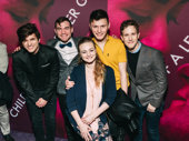 Deaf West's Spring Awakening alums Alex Boniello, Daniel Durant, Amelia Hensley, Joshua Castille and Alex Wyse, reunite.