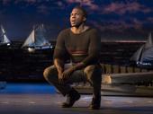 Joshua Henry as Billy Bigelow in Carousel.