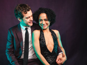 Joshua Jackson and Lauren Ridloff