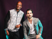 Director Kenny Leon and producer Nyle DiMarco