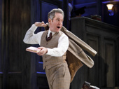 Tom Hollander as Henry Carr in Travesties.