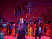 Arielle Jacobs as Jasmine in Aladdin.