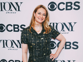 Mean Girls' Tony-nominated lyricist Nell Benjamin takes a photo.