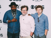 Lobby Hero Tony nominees Brian Tyree Henry and Michael Cera circle up with scribe Kenneth Lonergan.
