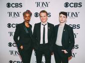 Harry Potter and the Cursed Child's Tony-nominated trio Noma Dumezweni, Jamie Parker and Anthony Boyle step out.