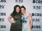 Carousel Tony nominees Lindsay Mendez and Jessie Mueller hug it out.