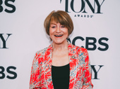 Angels in America's Susan Brown is celebrating her first Tony nomination.
