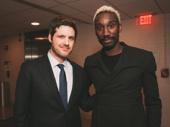 Michael Esper and Angels in America's Nathan Stewart-Jarrett get together.